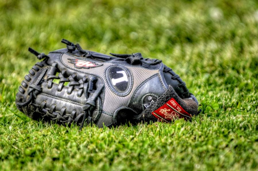 Elmorelian baseball glove
