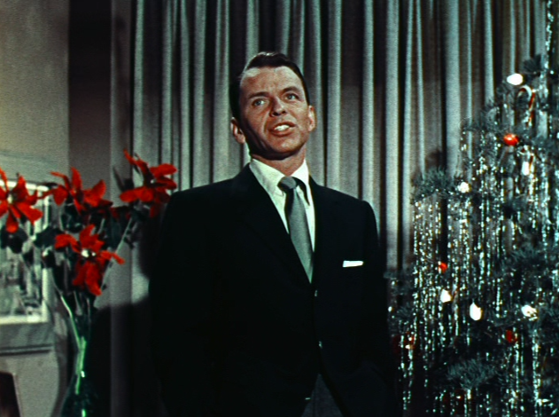 Frank Sinatra Christmas.Frank Sinatra Busts A Rhyme Dispatches To And From