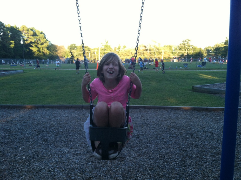 Kate in the baby swing.jpg