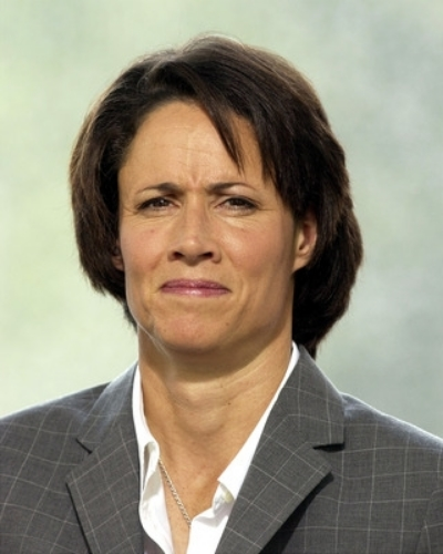Mary Carillo gave us these facial contortions well before Oscar Pistorius went insane in the membrane.