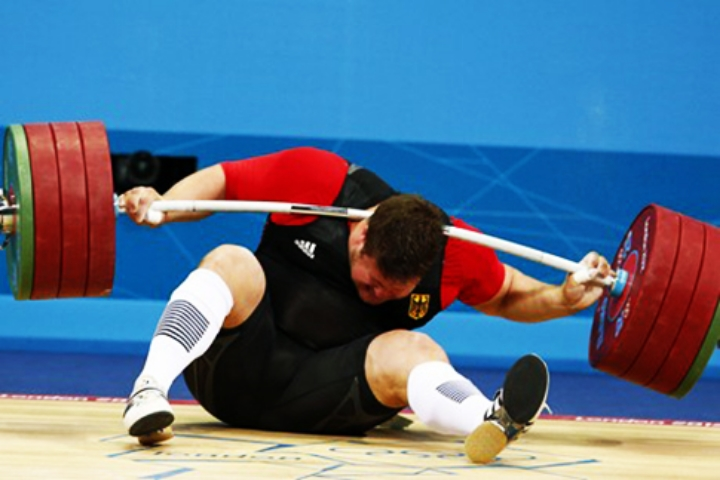 Matthias Steiner had weighty troubles at the Olympics, and at home.