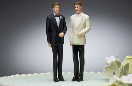 Same-sex wedding cakes.