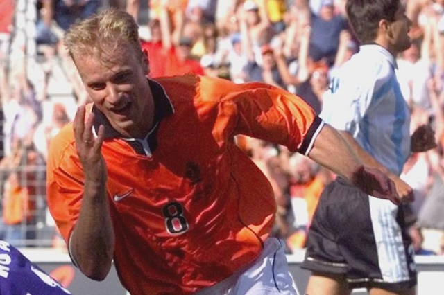 "Dennis Bergkamp, after scoring for the Netherlands against Argentina in the 1998 World Cup.          Normal   0           false   false   false     EN-US   X-NONE   X-NONE                                                                                                                                                                                                                                                                                                                                                                           /* Style Definitions */  table.MsoNormalTable 	{mso-style-name:""Table Normal""; 	mso-tstyle-rowband-size:0; 	mso-tstyle-colband-size:0; 	mso-style-noshow:yes; 	mso-style-priority:99; 	mso-style-parent:""""; 	mso-padding-alt:0in 5.4pt 0in 5.4pt; 	mso-para-margin-top:0in; 	mso-para-margin-right:0in; 	mso-para-margin-bottom:10.0pt; 	mso-para-margin-left:0in; 	line-height:115%; 	mso-pagination:widow-orphan; 	font-size:11.0pt; 	font-family:""Calibri"",""sans-serif""; 	mso-ascii-font-family:Calibri; 	mso-ascii-theme-font:minor-latin; 	mso-hansi-font-family:Calibri; 	mso-hansi-theme-font:minor-latin;}"