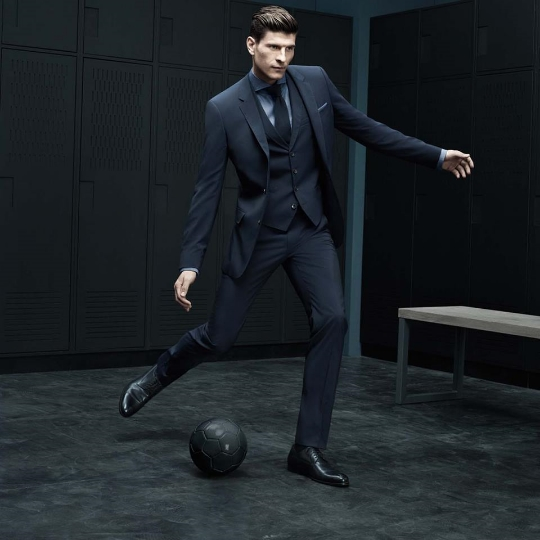 Hugo Boss advert.