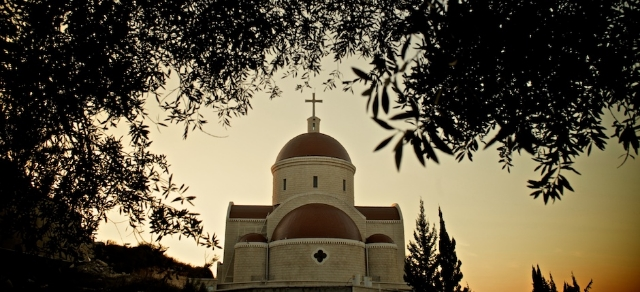 St. George Melkite Catholic Church in Ibillin, Galilee, Israel, where Father Elias Chacour   came to serve as parish priest in 1965.