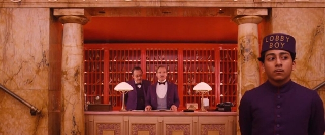 An image from Wes Anderson's 2014 film The Grand Budapest Hotel. Photo: RogerEbert.com.