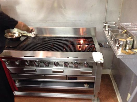 TUFF CHARBROILER IN ACTION - TCC-60