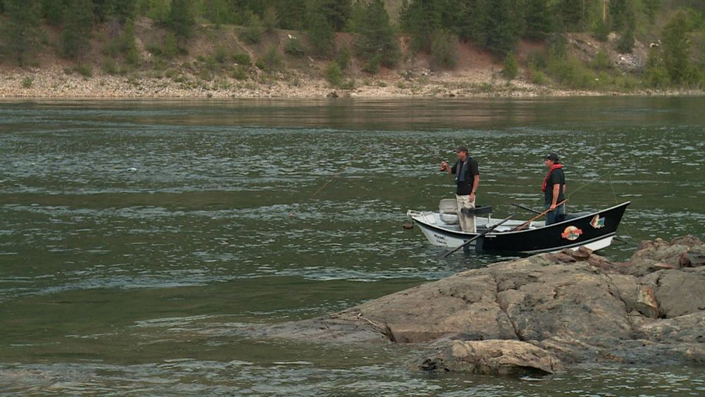 Don Freschi & Dwayne D'Andrea Fishing the Columbia River
