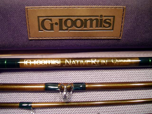 A G-Loomis NativeRun Rod and Case