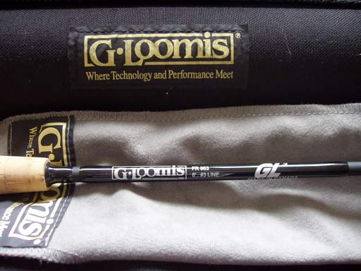 A G-Loomis GL3 Fly Rod