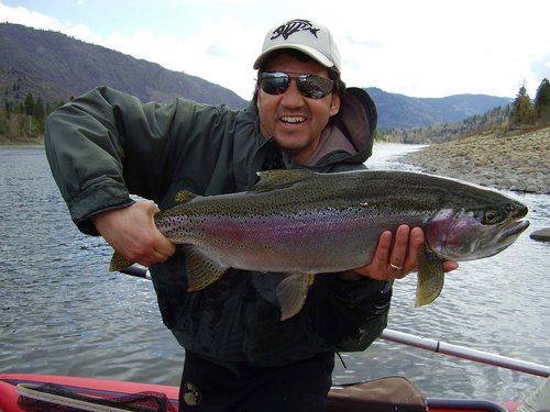 Don Freschi with a Monster Rainbow