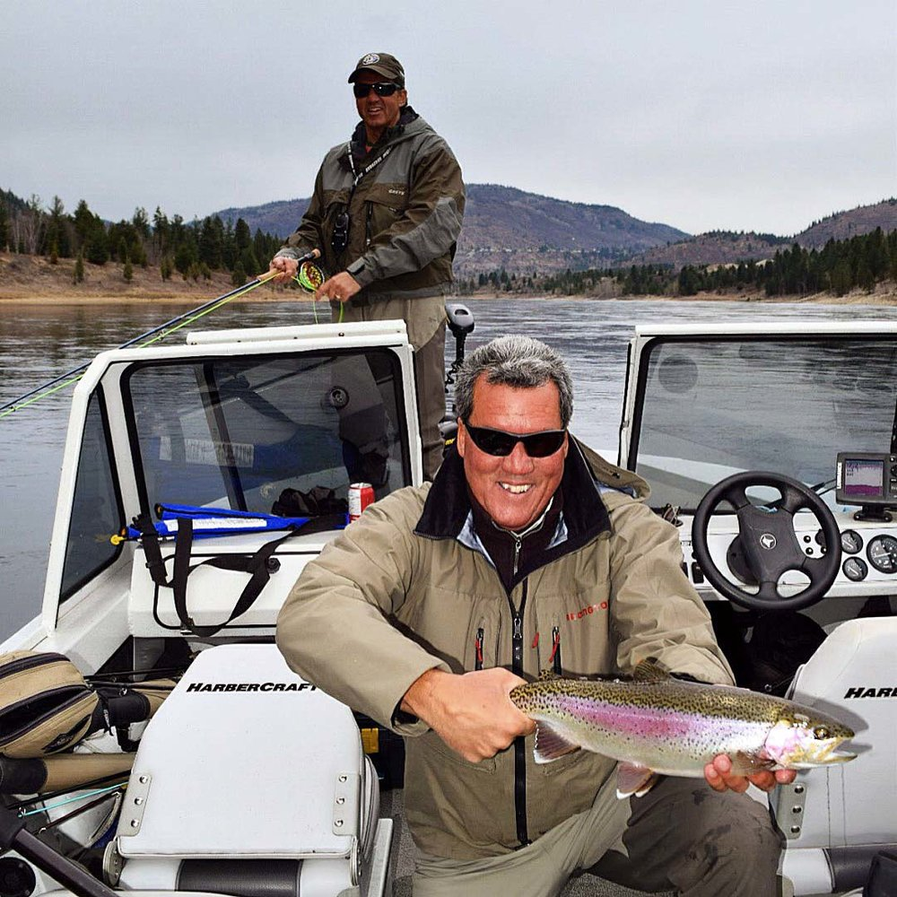 Dale Freschi with a Healthy Columbia River Bow