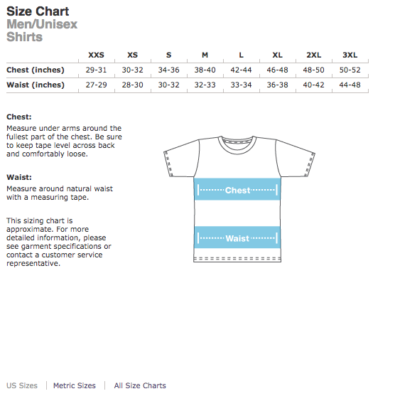 Men'sSizing