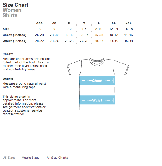 Women'sSizing