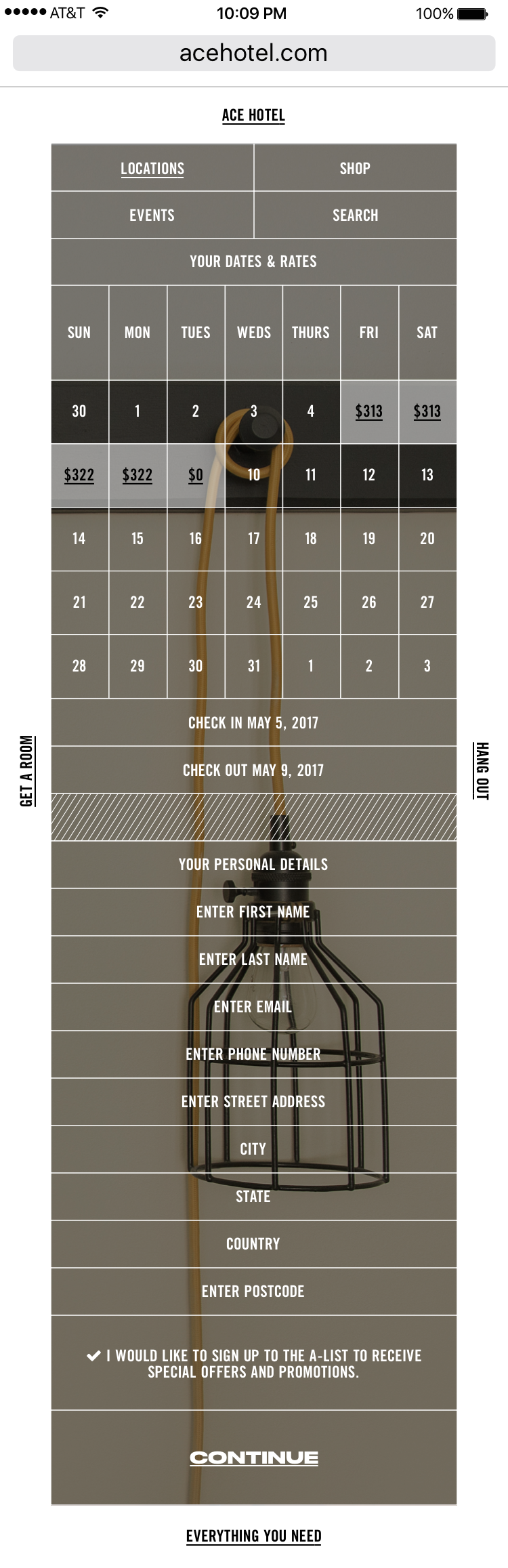 Comp - Book a Room - Personal Details Pittsburgh (iPhone 7).png
