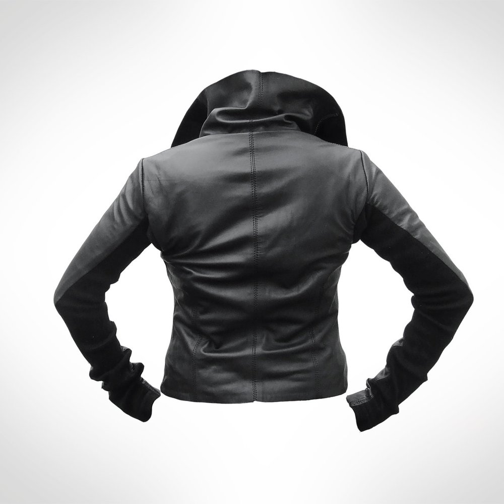 Blacker Leather | Back