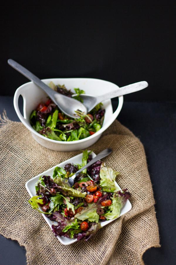 Italian Grilled Asparagus Salad l wanderingroot.com