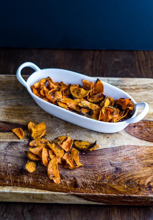 Sweet Potato Chips l wanderingroot.com
