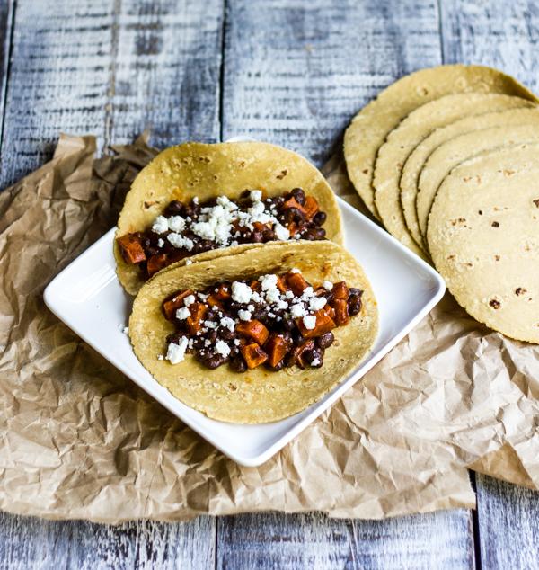 tacos crispy black bean tacos with buffalo chicken and black bean i ...