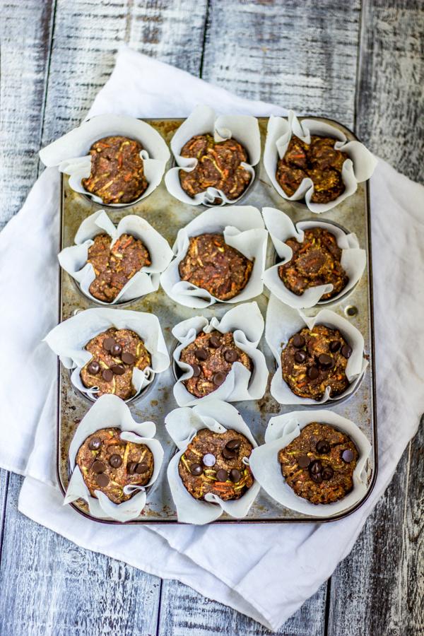 Paleo Autumn Harvest Cupcakes
