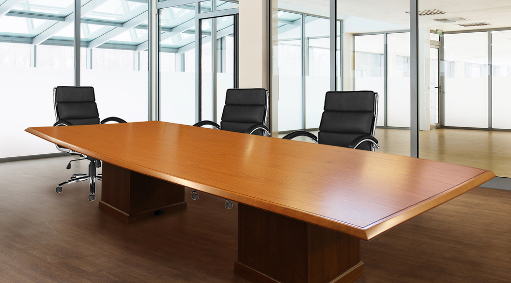 custom office tables. Custom Crafters Med Cherry Woodgrain Conference Table With Square Bases_Cropped.jpg Office Tables D