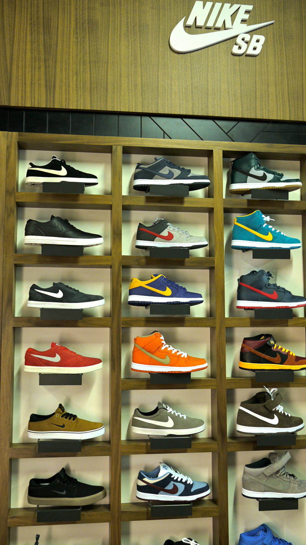 Nike SB Stopped By The Shop And Hooked Us Up With Some Epic New Displays Stop Store To Check Them Out Pick SBs While Youre Here