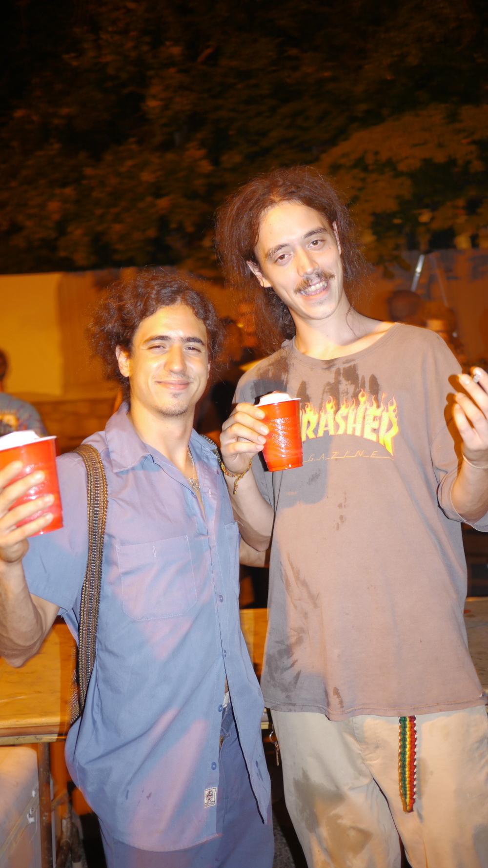 Santiago and some homeless guy