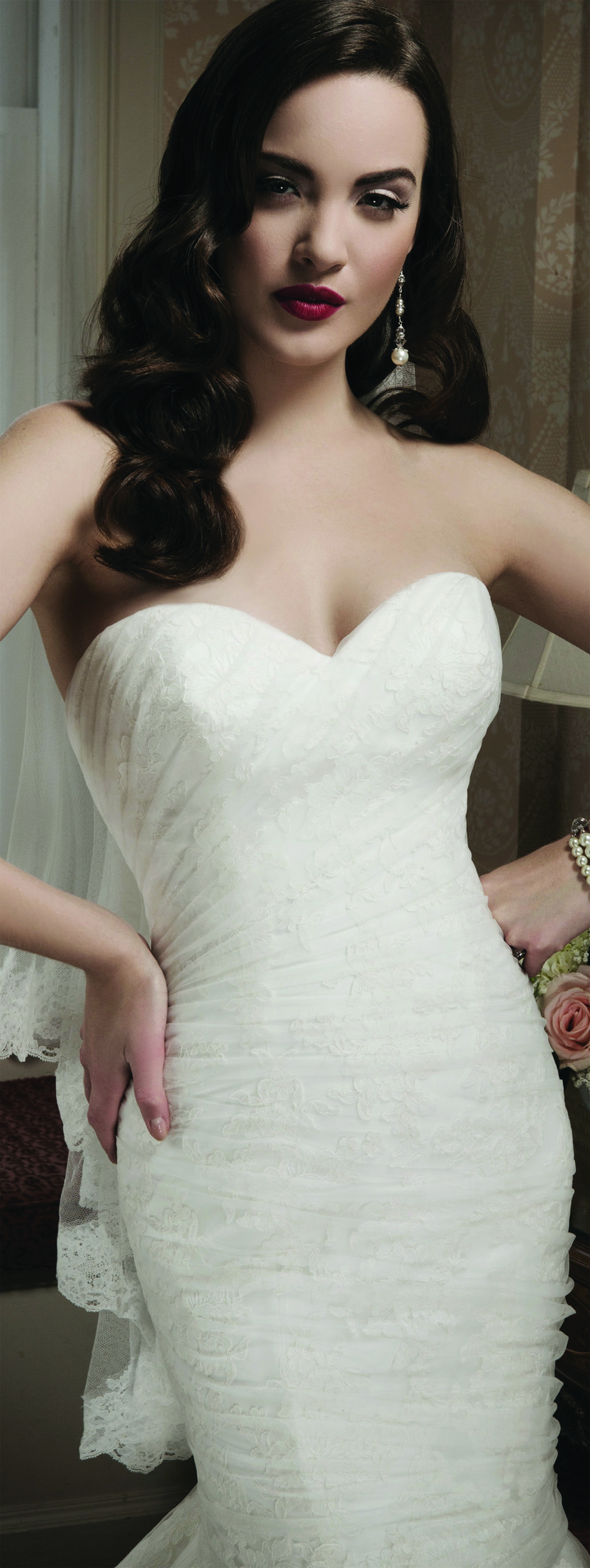 Gown from Justin Alexander, available at Blush Bridal