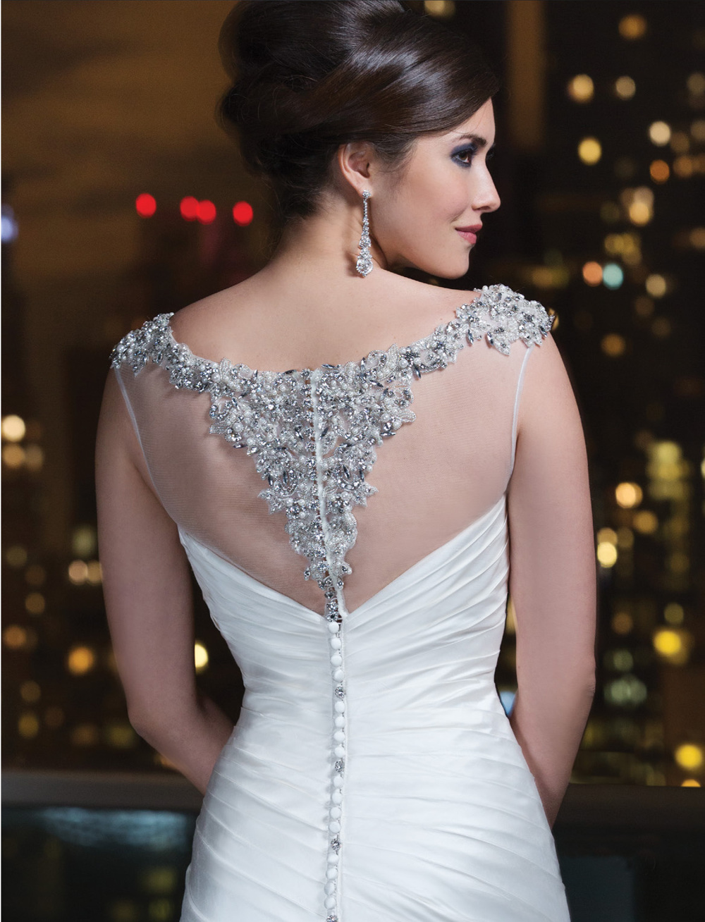 Gown by Justin Alexander, available at Blush Bridal.