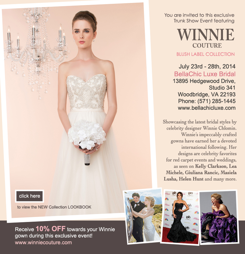 Bella Chic to debut with Winnie Couture Trunk Show – Brides ...