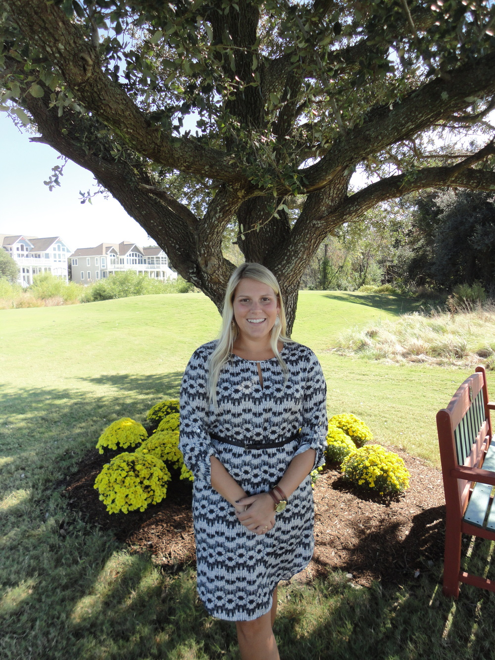 Private Events Director Ashley Earnhardt of Currituck Club.