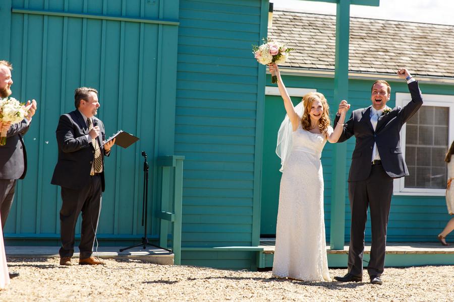 Grain Elevator Wedding | Real Weddings – Brides & Weddings Magazine