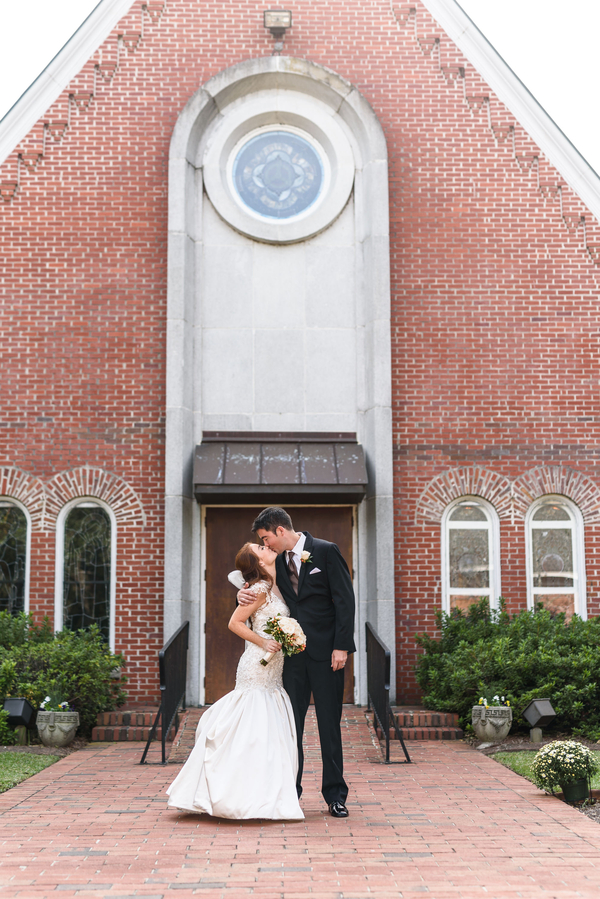 Historic Church Wedding Real Brides Weddings Brides Weddings