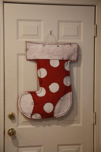 Christmas Burlap Door Hangers