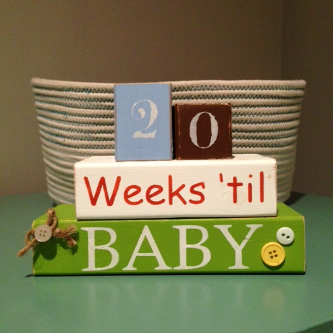 20 weeks to go