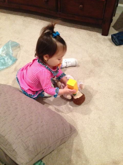 feeding Baby Doll