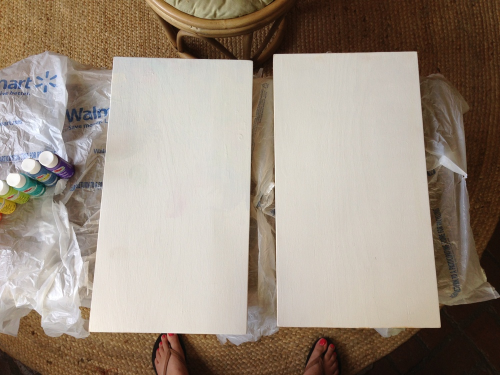 blank canvases