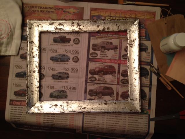 leafed frame