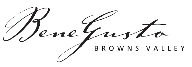 Bene Gusto Browns Valley Menu logo