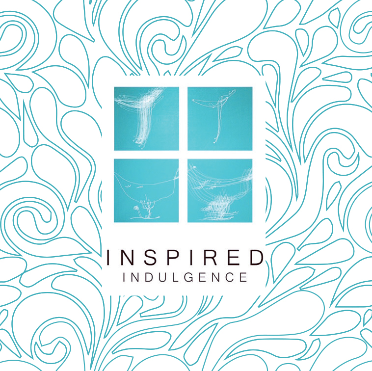 Square Business Card | Graphic Design | Inspired Indulgence