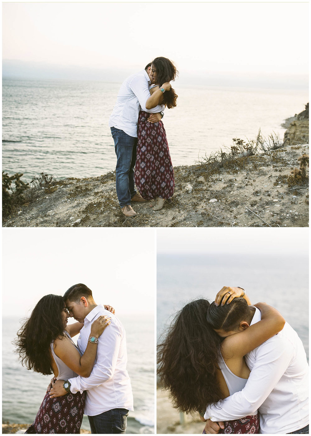 Palos-verdes-cliff-engagement-lizztin-photography