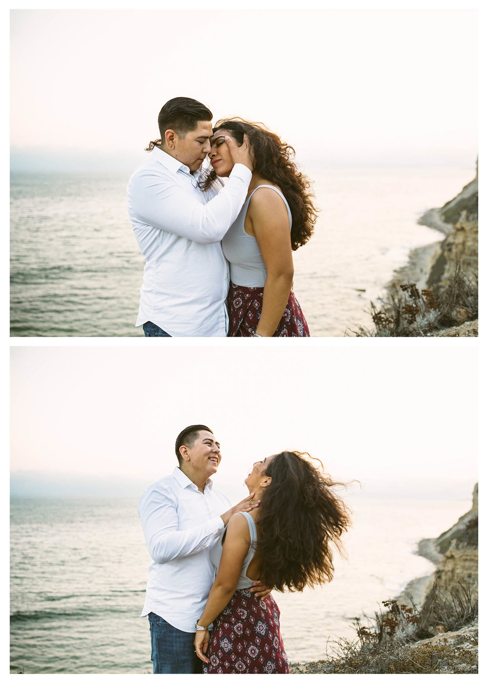 beach-cliff-engagement-session