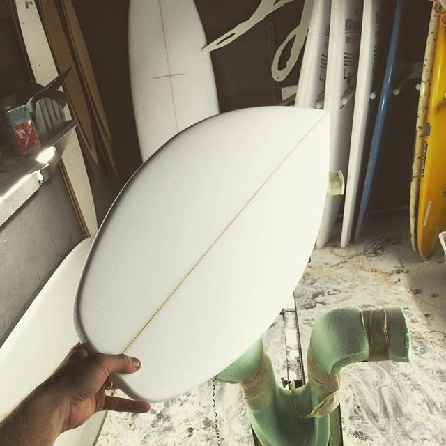 "Custom 5'3"" #angler #sjsurfboards"