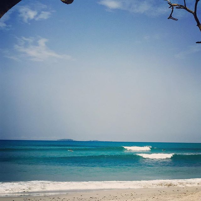 90 deg water and waves all day. Can't ask for much more. #Sayulita #mexico #muchneeded #sjsurfboards