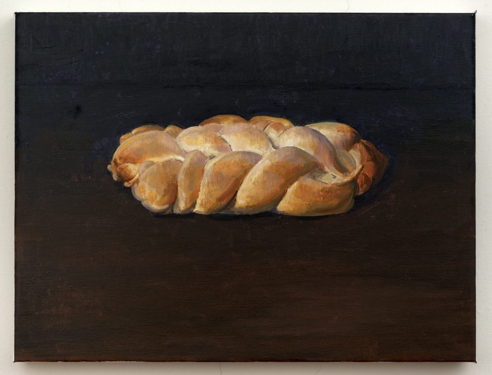 Challah, 2013, oil on linen, 18 x 24 inches