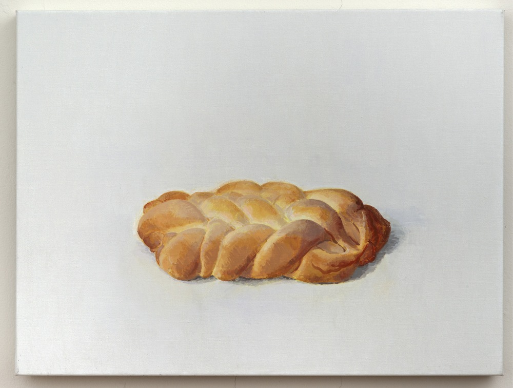 Challah II, 2013, oil on linen, 18 x 24 inches