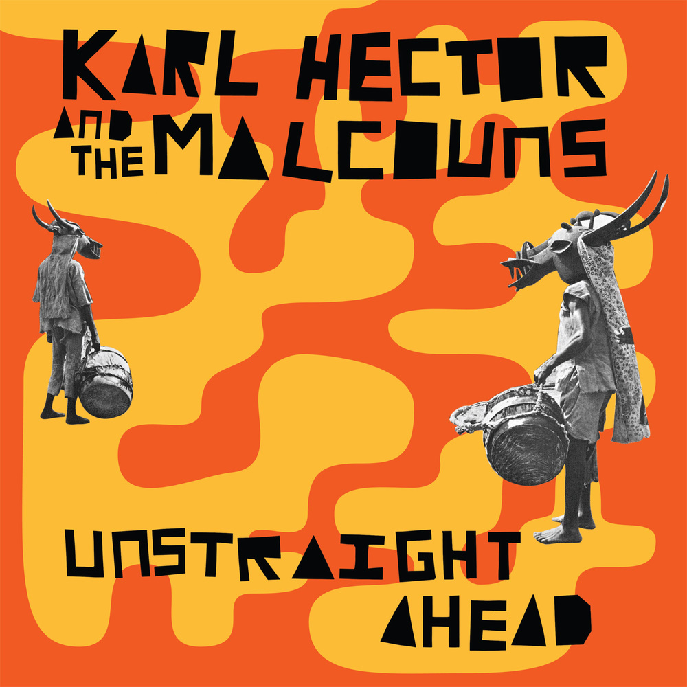 Karl Hector and The Malcouns – Unstraight Ahead These guys are contemporary masters of the Afro-psych-funk movement that's been boiling up since the mid 2000's alongside Natural Yogurt Band, Menehan Street Band, and Budos Band.  If you are a fan of any of those artists drop everything and buy this record because it is exceedingly crisp, catchy, and powerful.  The rhythm section in this band busts out beats that swing so hard they'll throw off your inner ear and you'll be walking sideways down the street for the next week.  Afro-beat horns swoop in with thick low chords hustling along a Fela Kuti guitar line.  This record is an absolute must for anyone interested in laid-back Funk or African music.