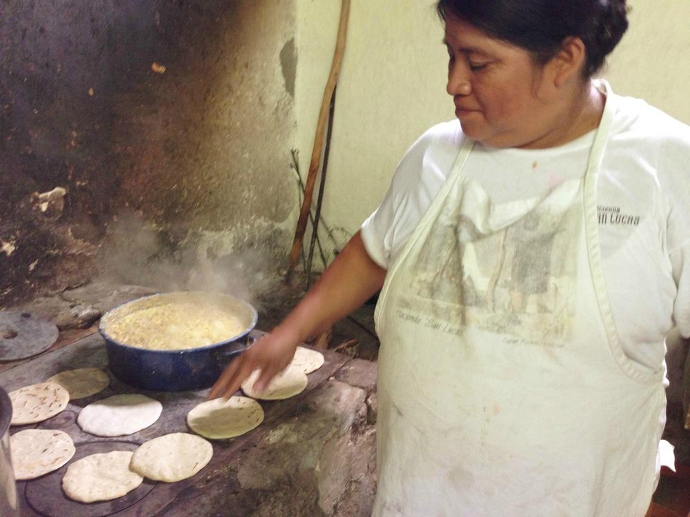 Tortillas en la plancha