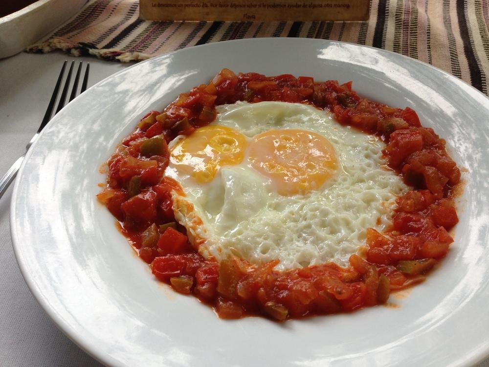 Delicious Huevos Rancheros