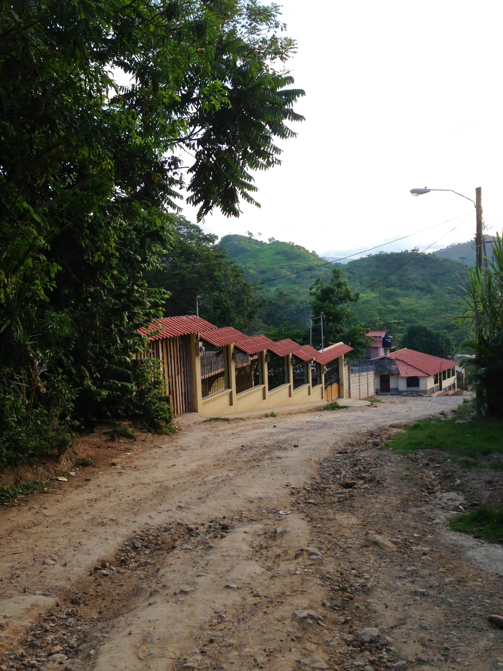 A village just outside Copán Ruinas